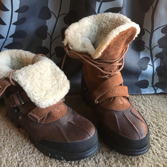 Ralph Lauren Boots Men Size